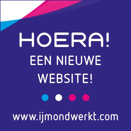 Nieuwe website IJmond Werkt!