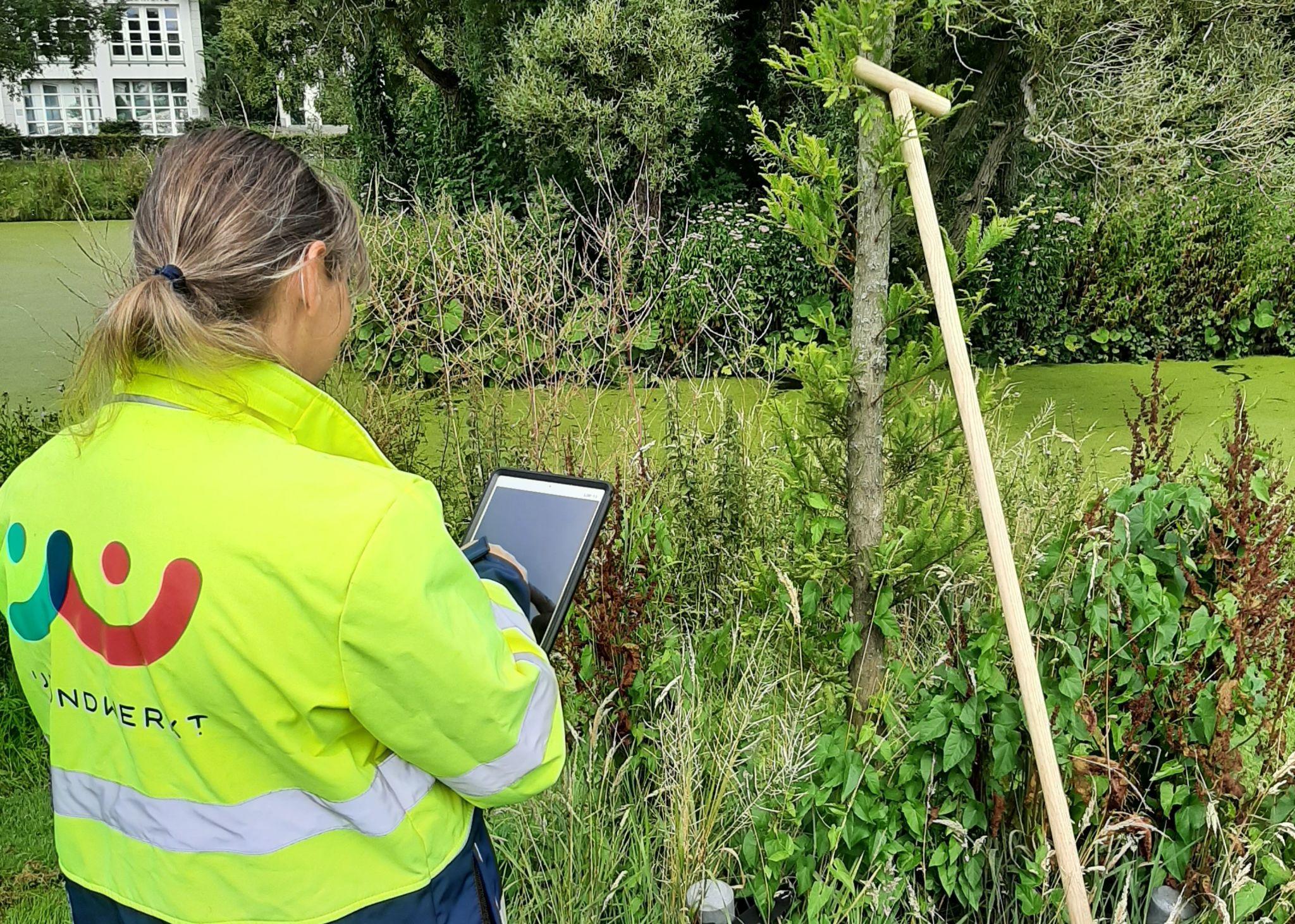 IJmond Werkt! onderzoekt of technologie medewerkers van de groenvoorziening kan ondersteunen
