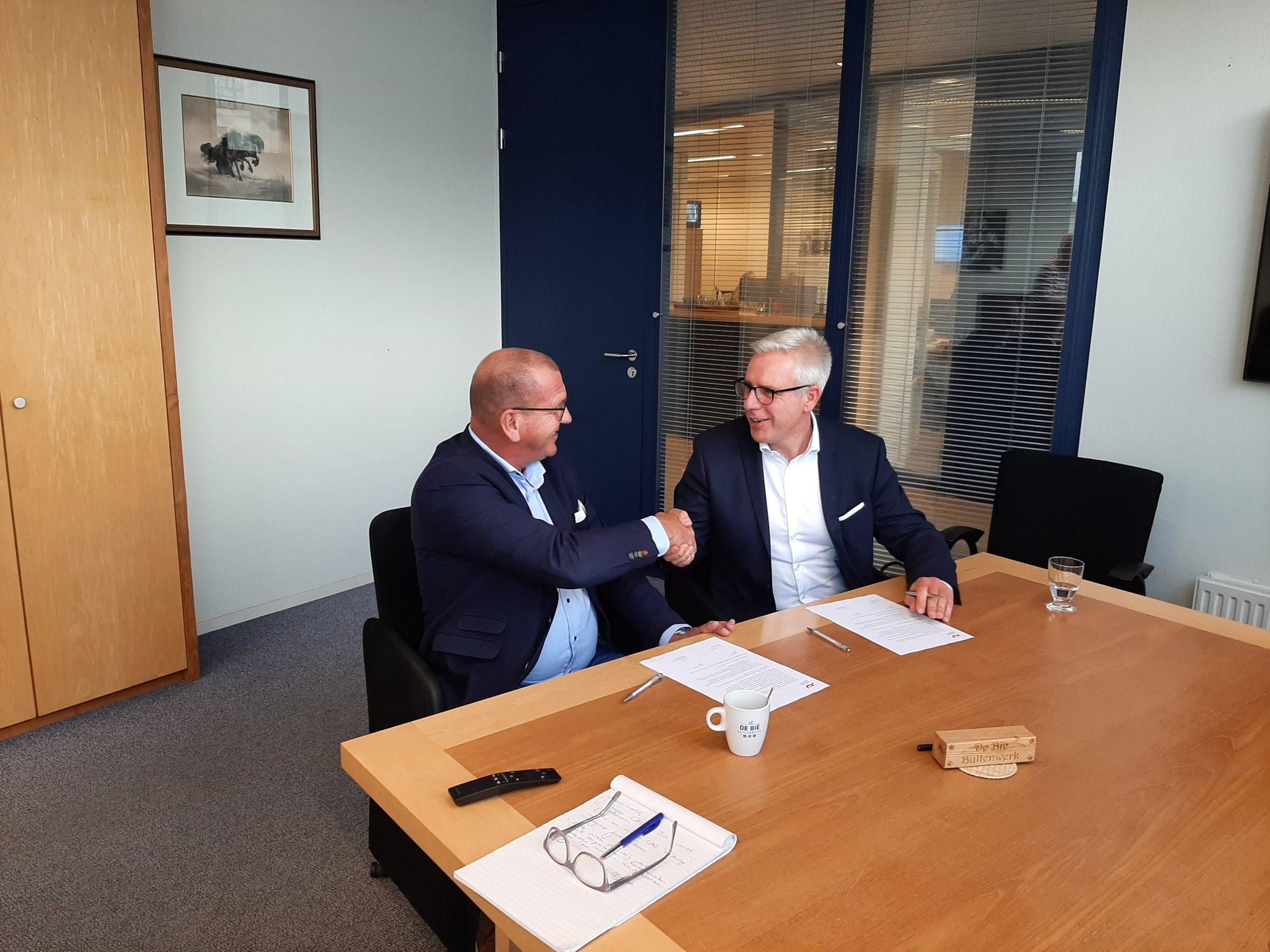 IJmond Werkt! en De Bie Groen BV zetten tijdelijke samenwerking om naar vast partnership